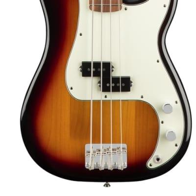 Fender Player Precision in 3-Color Sunburst with Bass Pau Ferro Fingerboard for sale