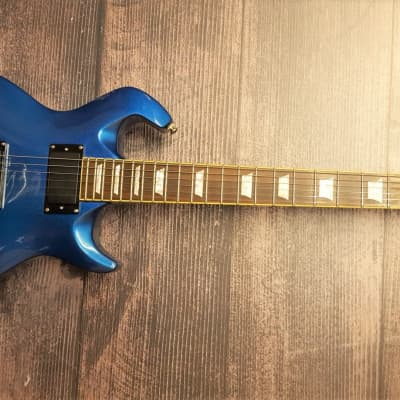 Drive Wildfire X2 Blue Metallic Electric Guitar for sale