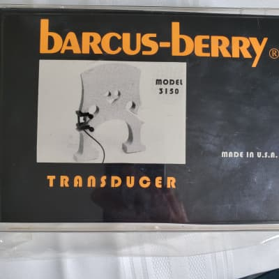 Barcus - Berry  3150   String Bass Transducer for sale