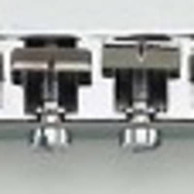 Allparts Chrome Economy Bridge With Hardware, 2-1/16