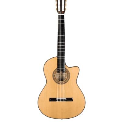Alvarez Yairi CYM75CE Masterworks Classical Guitar With LR Bagg VTC Element Pickup for sale