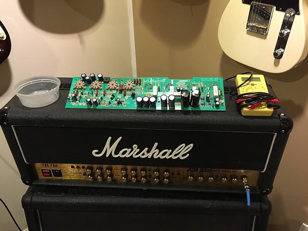 Marshall TSL100 2000 Revsion 10 Main Board Upgrade