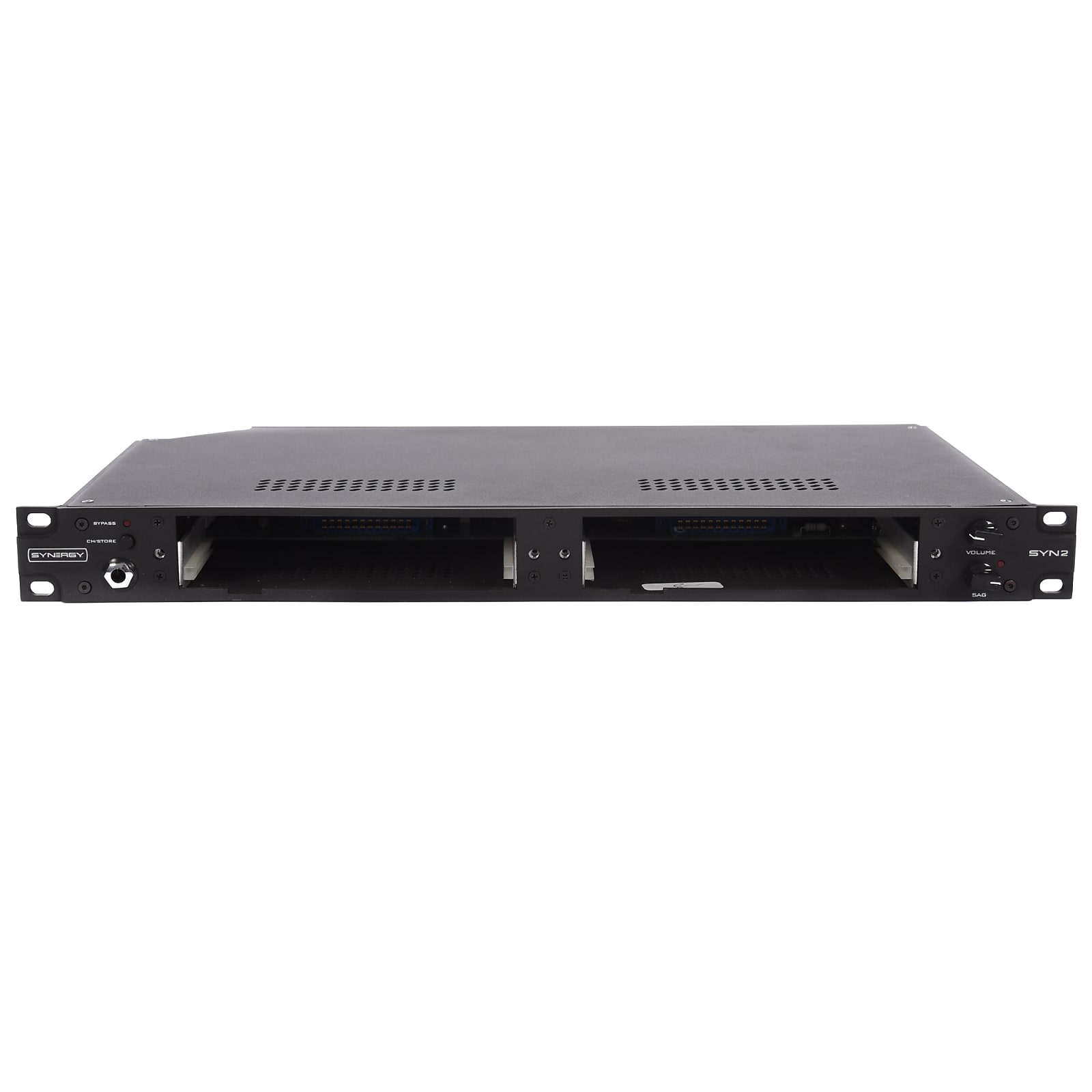 Synergy Syn 2 Rack Mount Preamp W Slots For Two Modules 1 12ax7 The Audio Preamplifier With Dual Recording Effects Loop Record Out Midi