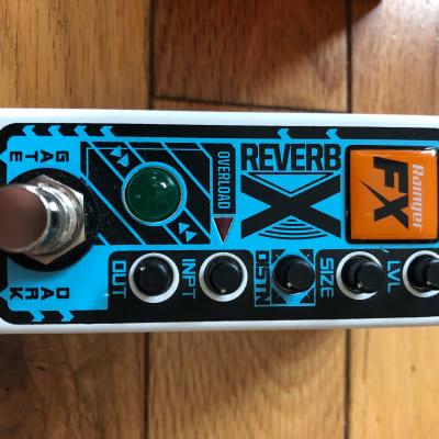 Rainger FX Reverb-X with Igor Pressure Pad Controller