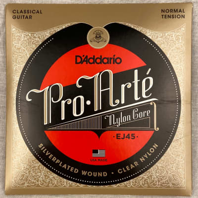 D'Addario EJ45 Pro-Arte Normal Tension Nylon Classical Guitar Strings