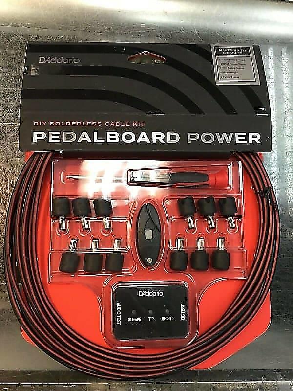D Addario Pw Pwrkit 20 Diy Solderless Pedalboard Power