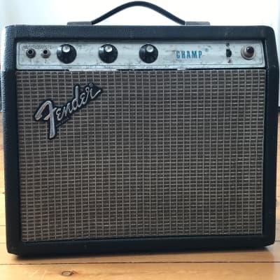 Fender Champ Silverface Combo Amp