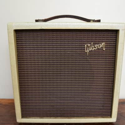 Gibson  Gibson GA5 Amp 1950's cream for sale
