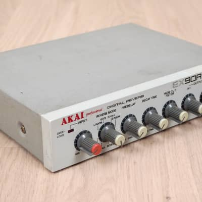 1980s Akai EX90R Digital Reverb Half Rack Effects Unit Japan w Adapter