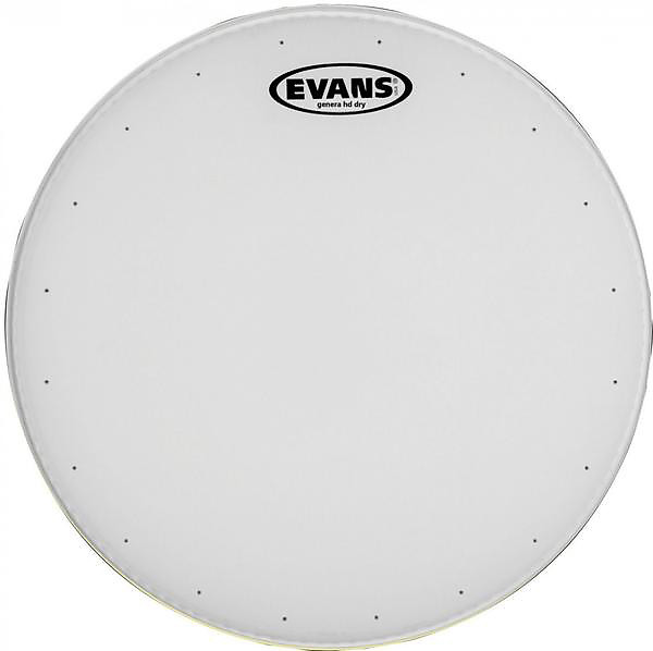 evans 14 inch genera dry snare drum batter head reverb. Black Bedroom Furniture Sets. Home Design Ideas