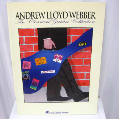 Andrew Lloyd Webber The Classical Guitar Collection Sheet Music Song Book Songbook