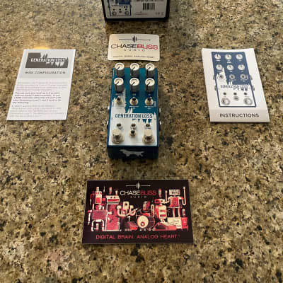 Chase Bliss Audio / Cooper FX Limited Edition Generation Loss 2019