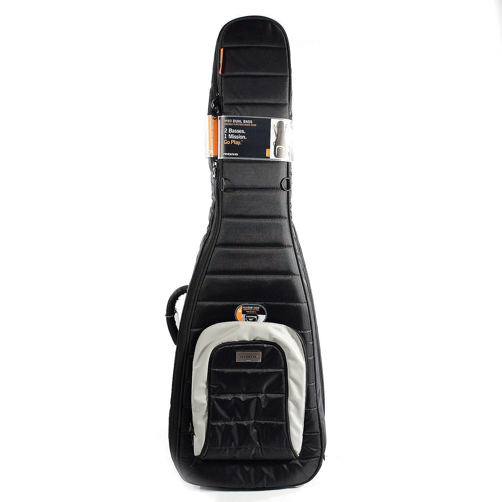 67781f3856a Mono M80 Dual Bass Case Jet Black