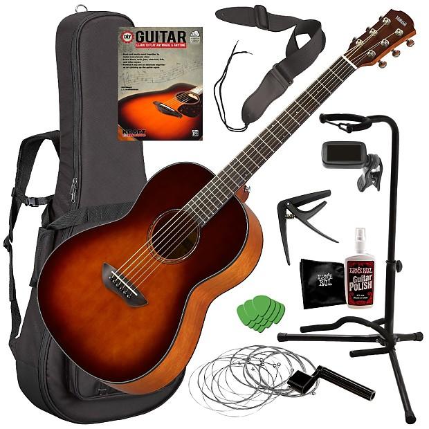 yamaha csf1m acoustic guitar tobacco brown sunburst reverb. Black Bedroom Furniture Sets. Home Design Ideas