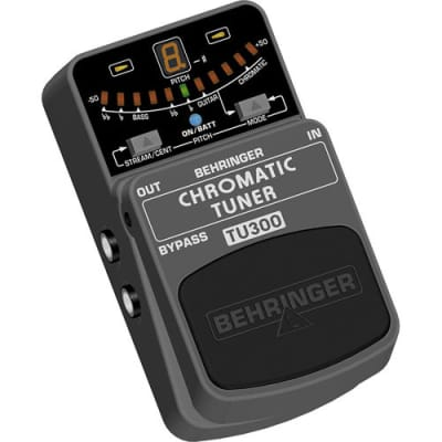 Behringer - TU300 - Chromatic Pedal Footswitch Guitar Bass Tuner Pedal for sale