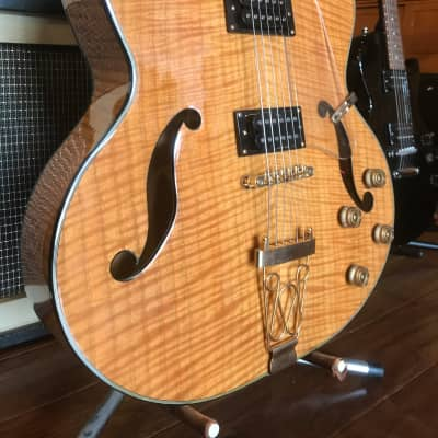 Raines Jazzbox Hollowbody Guitar 18'' Lower Bout for sale