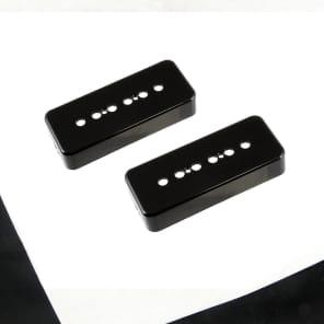 Allparts Soapbar Pickup Covers Black (2)