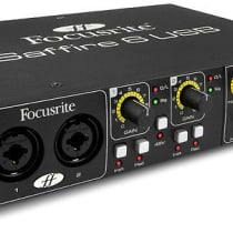 Focusrite Saffire 6 USB 2010s Black image