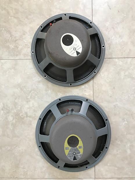 jbl d120f. pair jbl d120f-6 16ohm speakers jbl d120f t