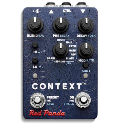 Red Panda Context 2 Reverberator 2020 Blue/Graphics NEW (Authorized Dealer)