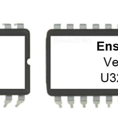 Ensoniq SQ-R Eprom firmware upgrade Latest OS version 1.02 SQR