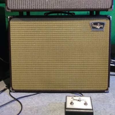 Tone King Meteor II 40 head and combo cabinet with extras 2005 Burgundy