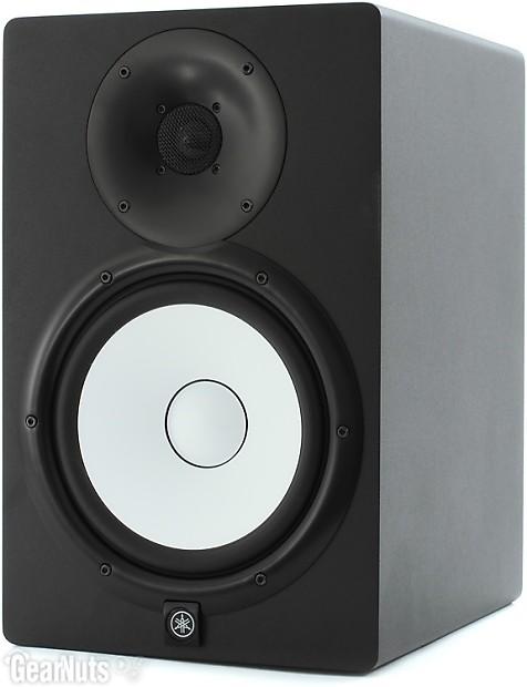 Yamaha hs8 8 powered studio monitor black gearnuts for Yamaha hs8 price