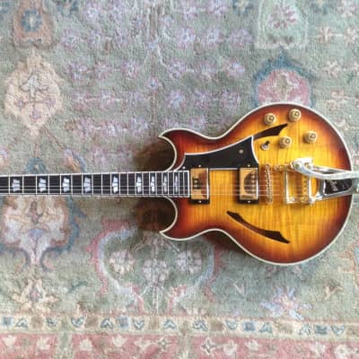 Gibson Johnny A Sunburst Flame Top for sale