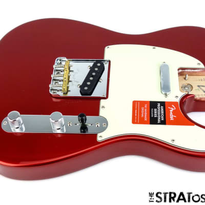 Fender American Professional Telecaster LOADED BODY USA Tele Candy Apple Red image
