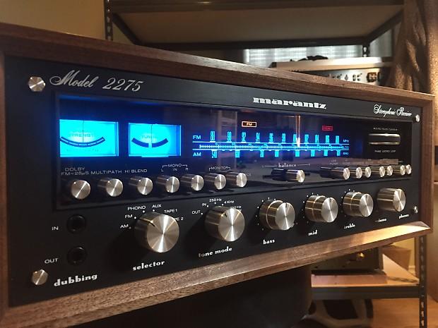 Marantz 2275 Stereo Receiver 1977 Blackface Walnut Cabinet
