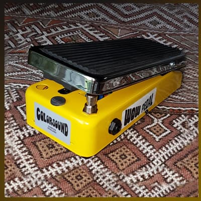 Colorsound wow wah-wah direct from Sola Sound London for sale