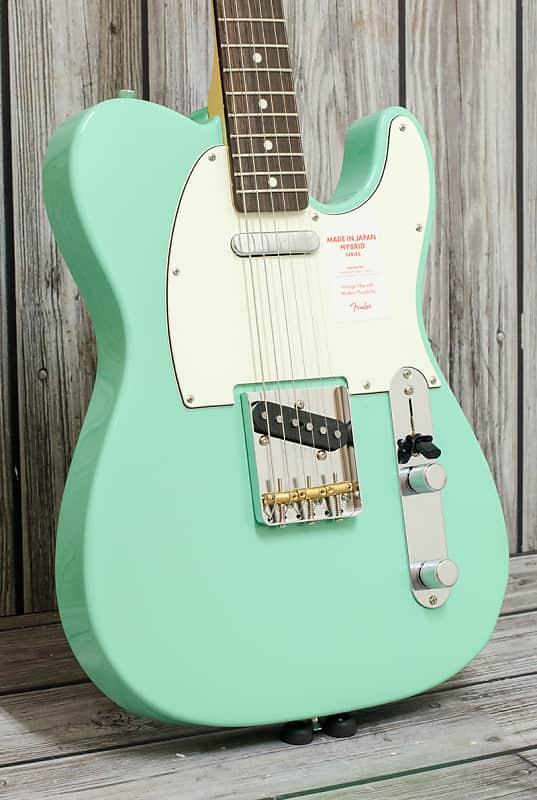 Fender MIJ Telecaster FSR '60s Hybrid Seafoam Green, Rosewood