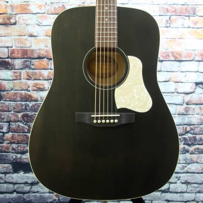 Store Demo | Art & Lutherie Americana Acoustic Guitar | Faded Black for sale