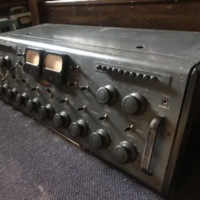 Vintage Collins 212a stereo tube broadcast recording/mixing console w/ supply