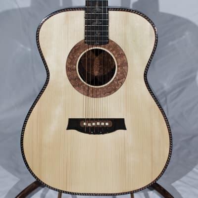 Portland Guitar Luthier 2021 Jumbo Brazilian Rosewood and Adirondack Spruce Amazon Guitar for sale