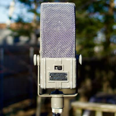"Electro-Voice - V2  - Ribbon Microphone - ""Resto-Modded"" by Michael Farabee - Lo-Z"