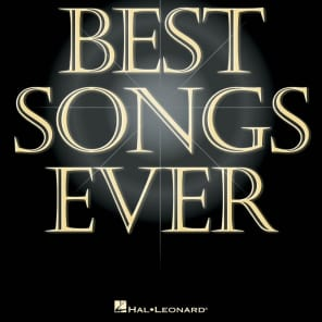 Hal Leonard The Best Songs Ever - 6th Edition