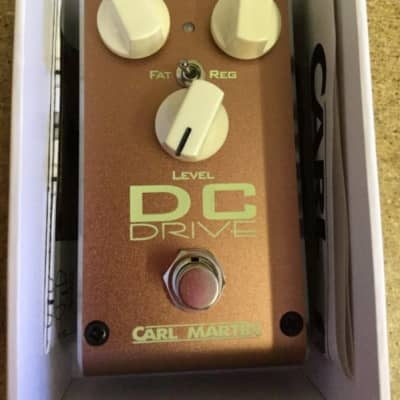 Carl Martin DC Drive 2018 Overdrive Pedal