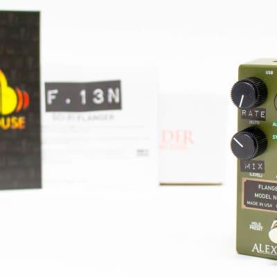 Alexander F-13 Neo Flanger Neo Series Guitar Effect Pedal
