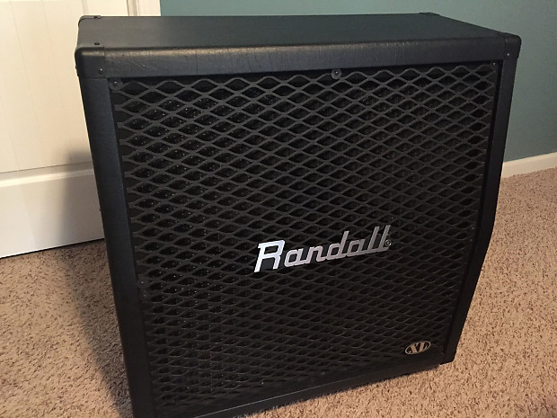 Randall RA412XLT 4X12 Guitar Cabinet with Celestion Vintage | Reverb