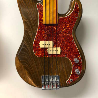Warmoth Fretless Neck Azola P Bass Body Electric Bass  - Late 80's for sale