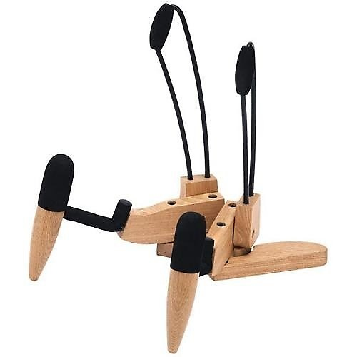 Stageline Gs551e Guitar Stand Wood Zorro Sounds