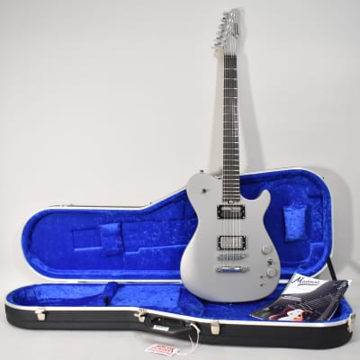 2019 Manson MA EVO Sustainiac Grey Matter Finish Electric Guitar w/OHSC for sale