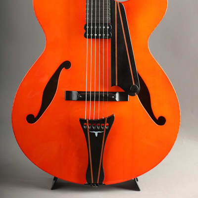 Marchione 16 inch Arch Top Mark Whitfield Model Marchione Red for sale