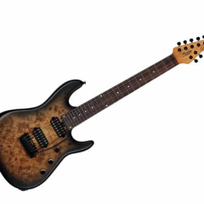 Sterling by Music Man Richardson Cutlass - Natural Poplar Burl Burst/Rosewood for sale