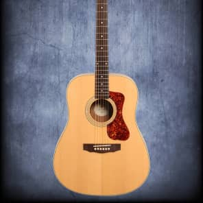 Guild D240E Acoustic Electric Guitar Natural for sale