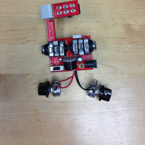Modded Dunlop Cry Baby Wah Pedal True Bypass / LED Mods   Reverb