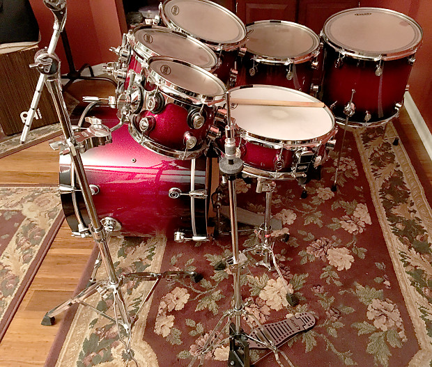 Pdp By Dw X7 Series 7 Piece Drum Set W Hardware And Extras Reverb