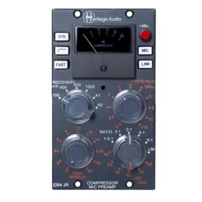 New Heritage Audio HA2264JR 500 series comp/mic pre