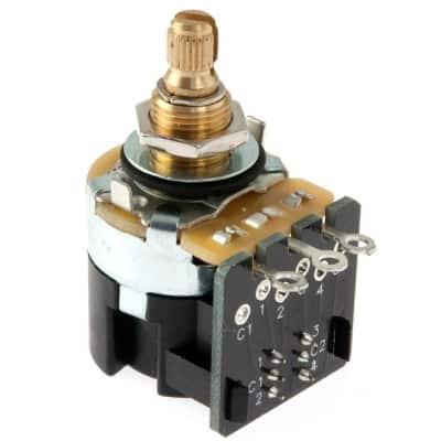 CTS 500K Audio Taper Pot w/ Push/Pull Switch